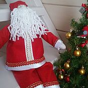 Куклы и игрушки handmade. Livemaster - original item In stock!!! Santa Claus Tilda. Handmade.