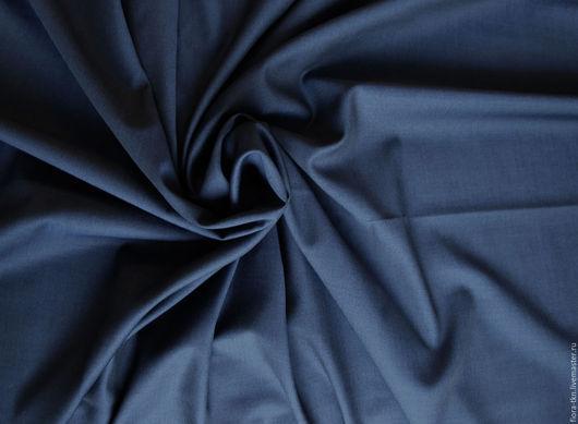 Тонкая серая-голубая костюмка, по пластике суховата