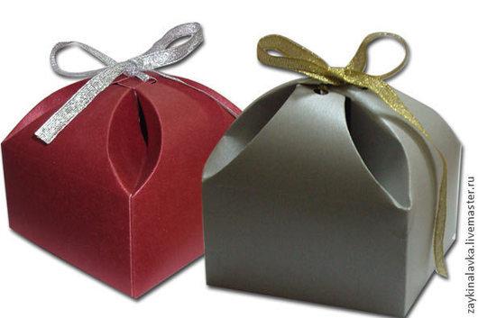 Упаковка ручной работы. Ярмарка Мастеров - ручная работа. Купить Коробочка подарочная. Handmade. Разноцветный, подарочная упаковка, картон