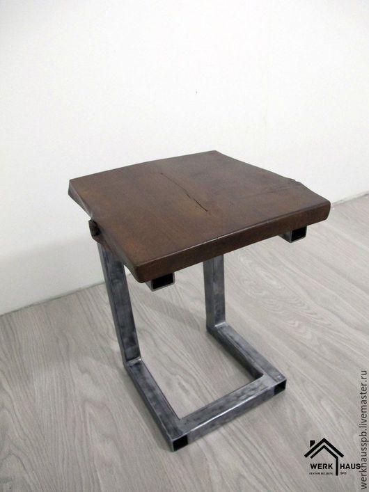 Мебель ручной работы. Ярмарка Мастеров - ручная работа. Купить Табурет в стиле эко лофт. Handmade. Коричневый, табуретка
