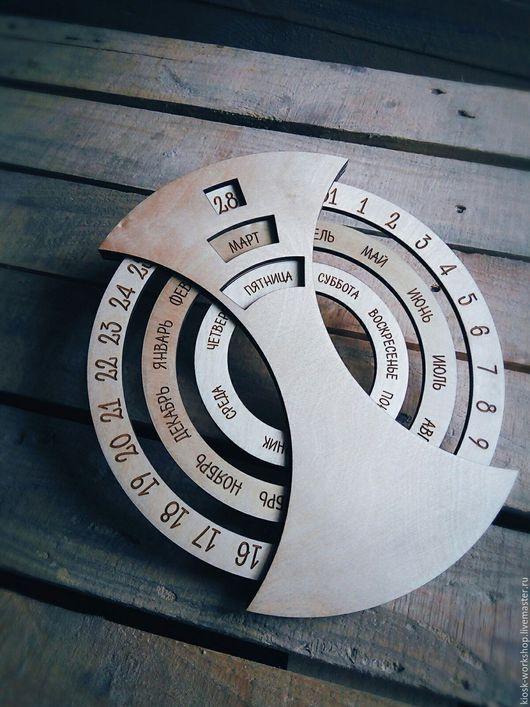 Календари ручной работы. Ярмарка Мастеров - ручная работа. Купить Вечный календарь. Handmade. Вечный календарь, декор для дома