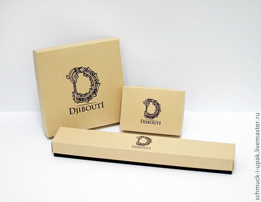 """Упаковка ручной работы. Ярмарка Мастеров - ручная работа. Купить Упаковка для украшений """"Djibouti"""". Handmade. Бежевый, djibouti, упаковка на зака"""
