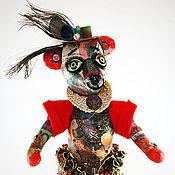 Куклы и игрушки ручной работы. Ярмарка Мастеров - ручная работа Медведь  Дон Дублон (денежный талисман). Handmade.
