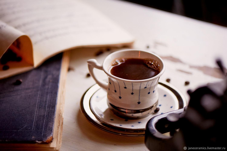 Star coffee... Handmade dishes, ceramics, Tea & Coffee Sets, Zhukovsky,  Фото №1