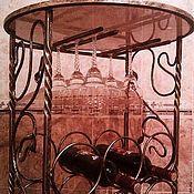 Для дома и интерьера ручной работы. Ярмарка Мастеров - ручная работа Стойка для винных бутылок. Handmade.