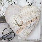 """Для дома и интерьера ручной работы. Ярмарка Мастеров - ручная работа Сердца в винтажном стиле """" Sweet home"""". Handmade."""