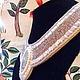 """Воротнички ручной работы. Воротничок """"Сталь"""". Anna Glazur' (Анна Глазурь). Ярмарка Мастеров. Натуральные камни, натуральные камни"""