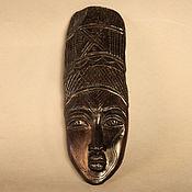 Для дома и интерьера ручной работы. Ярмарка Мастеров - ручная работа Маска африканская интерьерная - эбеновое дерево. Handmade.