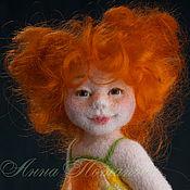 Куклы и игрушки ручной работы. Ярмарка Мастеров - ручная работа Авторская войлочная кукла Солнечный зайчик. Handmade.