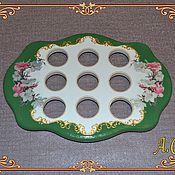 Подарки к праздникам ручной работы. Ярмарка Мастеров - ручная работа Подставка для яиц. Handmade.