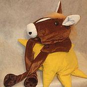 Подарки к праздникам ручной работы. Ярмарка Мастеров - ручная работа Шапка в виде головы лошади. Handmade.