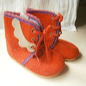 Винтаж ручной работы. Ярмарка Мастеров - ручная работа Ботиночки винтажные. Handmade.