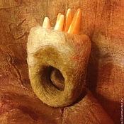 """Украшения ручной работы. Ярмарка Мастеров - ручная работа войлочное бохо-кольцо """"НАМИБ"""". Handmade."""