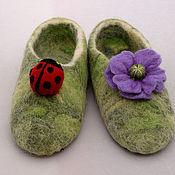 Обувь ручной работы. Ярмарка Мастеров - ручная работа Полянки. Handmade.
