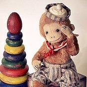 Куклы и игрушки ручной работы. Ярмарка Мастеров - ручная работа Боня.Любимая  Обезьянка.. Handmade.
