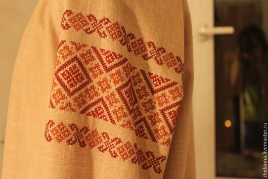 Платья ручной работы. Ярмарка Мастеров - ручная работа. Купить Вышиванка. Handmade. Вышиванка ручной работы, Этническая одежда