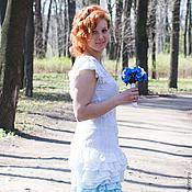 """Одежда ручной работы. Ярмарка Мастеров - ручная работа Платье """"Морская пена"""". Handmade."""