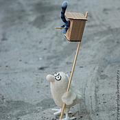 Куклы и игрушки handmade. Livemaster - original item Spring. Cats arrived .... Handmade.