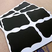 Материалы для творчества handmade. Livemaster - original item Vinyl sticker for recordings in the assortment (4 pcs). Handmade.