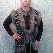 Одежда ручной работы. Ярмарка Мастеров - ручная работа Жилет вязаный Оригинальный. Handmade.
