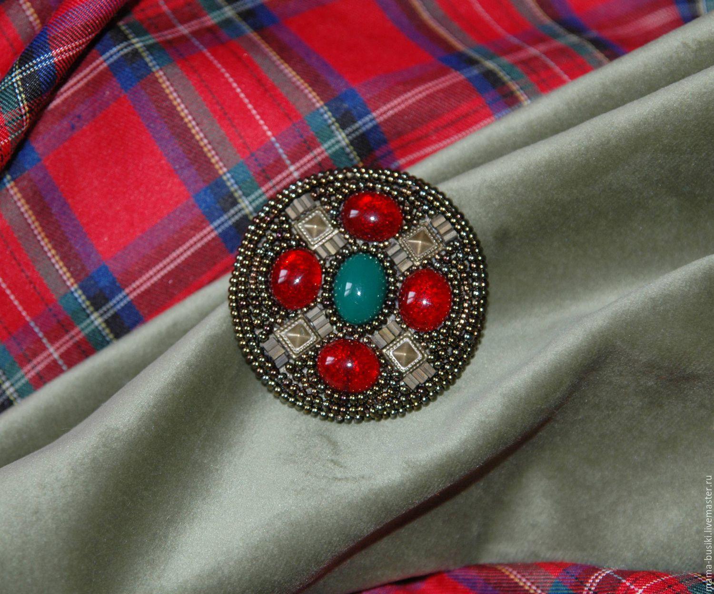 Кельтская брошь в винтажном стиле Brave Hart, Брошь-булавка, Тула,  Фото №1