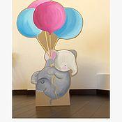 Иллюстрации ручной работы. Ярмарка Мастеров - ручная работа Фотозона из картона. Handmade.