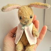 Куклы и игрушки ручной работы. Ярмарка Мастеров - ручная работа Зайка 10,5 см  Флёри. Handmade.