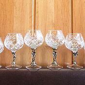 """Посуда ручной работы. Ярмарка Мастеров - ручная работа """"КОМБИ-3"""" набор бокалов  из 6 предметов. См. описание.. Handmade."""