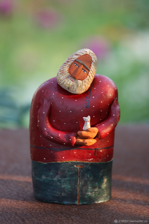 """Статуэтки ручной работы. Ярмарка Мастеров - ручная работа. Купить МУЗЕЙ. Скульптура """"Глубинная нежность"""". Handmade."""