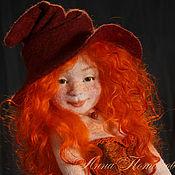 Куклы и игрушки ручной работы. Ярмарка Мастеров - ручная работа Агния. Авторская войлочная кукла.. Handmade.
