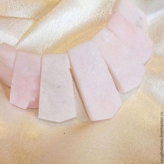 Для украшений ручной работы. Ярмарка Мастеров - ручная работа. Купить ДИКАЯ РОЗА опал бусины подвески необработанные набороты камни. Handmade.