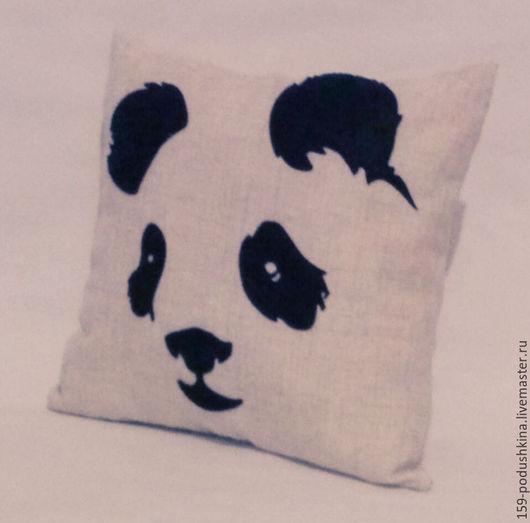 Текстиль, ковры ручной работы. Ярмарка Мастеров - ручная работа. Купить Подушка интерьерная. Handmade. Комбинированный, подушка декоративная