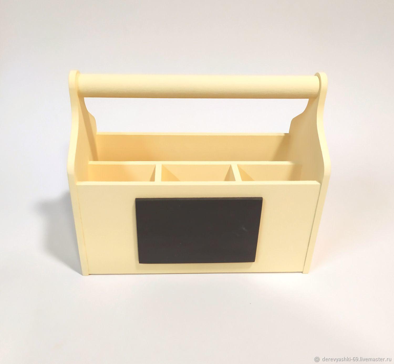 Карандашница органайзер с грифельной табличкой, Карандашницы, Ржев, Фото №1