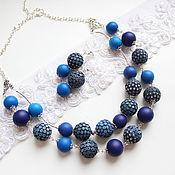 Украшения handmade. Livemaster - original item Necklace-beads and earrings. Handmade.
