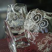 Посуда ручной работы. Ярмарка Мастеров - ручная работа Фужеры коньячные. Handmade.
