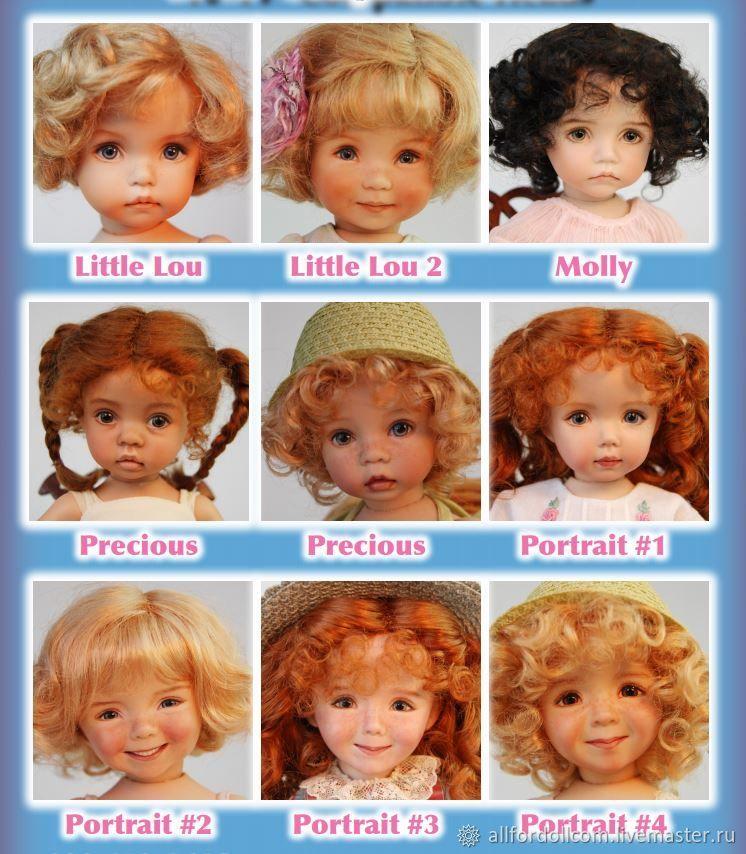 Dianna Effner - Создай её куклу 30 см сам, Заготовки для кукол и игрушек, Денвер,  Фото №1