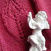 Одежда ручной работы. Ярмарка Мастеров - ручная работа 50-52р. Теплая  малиновая юбка. Handmade.