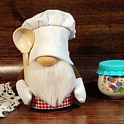 Народная кукла ручной работы. Ярмарка Мастеров - ручная работа Народная кукла: Гном-поваренок. Handmade.