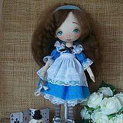 Куклы и игрушки ручной работы. Ярмарка Мастеров - ручная работа Интерьерная кукла Алиса. Handmade.