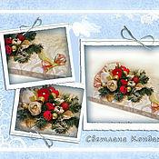 Цветы и флористика ручной работы. Ярмарка Мастеров - ручная работа Конфетный букет на коробочке конфет. Handmade.