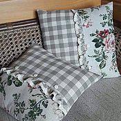 Для дома и интерьера handmade. Livemaster - original item Decorative pillowcase Ash rose. Handmade.