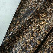 Кожа ручной работы. Ярмарка Мастеров - ручная работа Кожа Европейская икра натуральная крс коричневого цвета. Handmade.