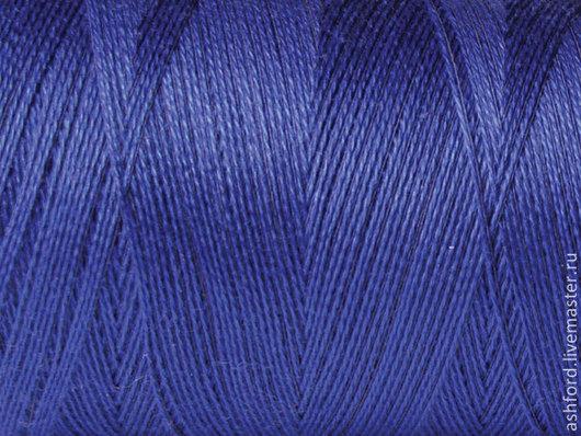 """Другие виды рукоделия ручной работы. Ярмарка Мастеров - ручная работа. Купить Нитки для ткачества """"Колколастик"""" - синий.. Handmade. Синий"""