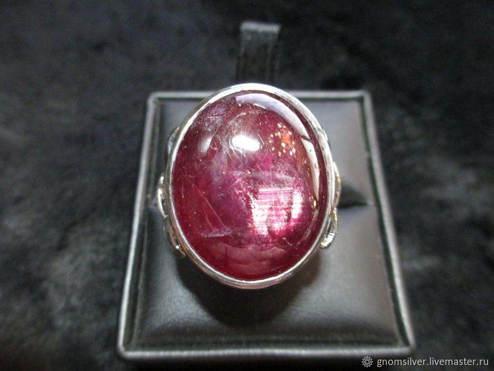 Кольца ручной работы. Ярмарка Мастеров - ручная работа. Купить Уникальное кольцо с рубином с о. Мадагаскар (46,16 карата). Handmade.