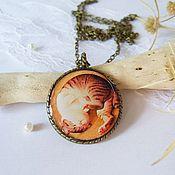 Украшения handmade. Livemaster - original item Round Pendant / Medallion Seal No. №2. Handmade.