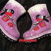 Работы для детей, handmade. Livemaster - original item Children`s boots