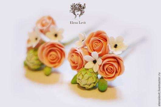 Цветы в прическу от Terracotta by Elena Levit