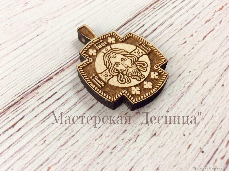Крестик нательный деревянный (Иисус Христос), Крестик, Симферополь,  Фото №1
