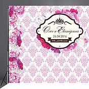Свадебный салон ручной работы. Ярмарка Мастеров - ручная работа Фото стена, Пресс волл, Свадебный банер, Press-wall. Handmade.