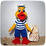 handmade. Livemaster - original item Soft toys: Ut - Sailor!. Handmade.